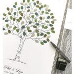 Wedding tree - Fingerprint Tree