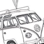 Fingerprint guest book | VW Kombi