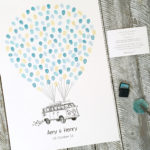 Kombi Wedding Guest book