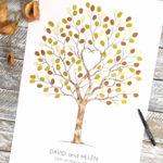 Wedding tree. Unity tree watercolour. Guest book, Fingerprint tree, wedding tree, alternative guest book, guest book tree, thumbprint tree, Family tree