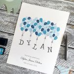 Naming ceremony guest book, Christening guest book, baptism guest book