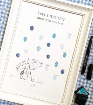aby Shower guest book