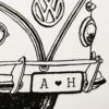 Kombi number plate close up