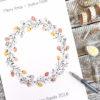 christmas Wreath FingerprintGuest book