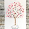 Guest book, Fingerprint tree, wedding tree, alternative guest book, guest book tree, thumbprint tree, family tree