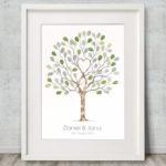 Wedding tree - Unity tree A3 Watercolour