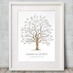 Wedding tree Signature tree