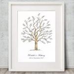 Wedding tree Signature tree - Guest book idea