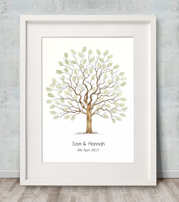 Elegant Tree Watercolour